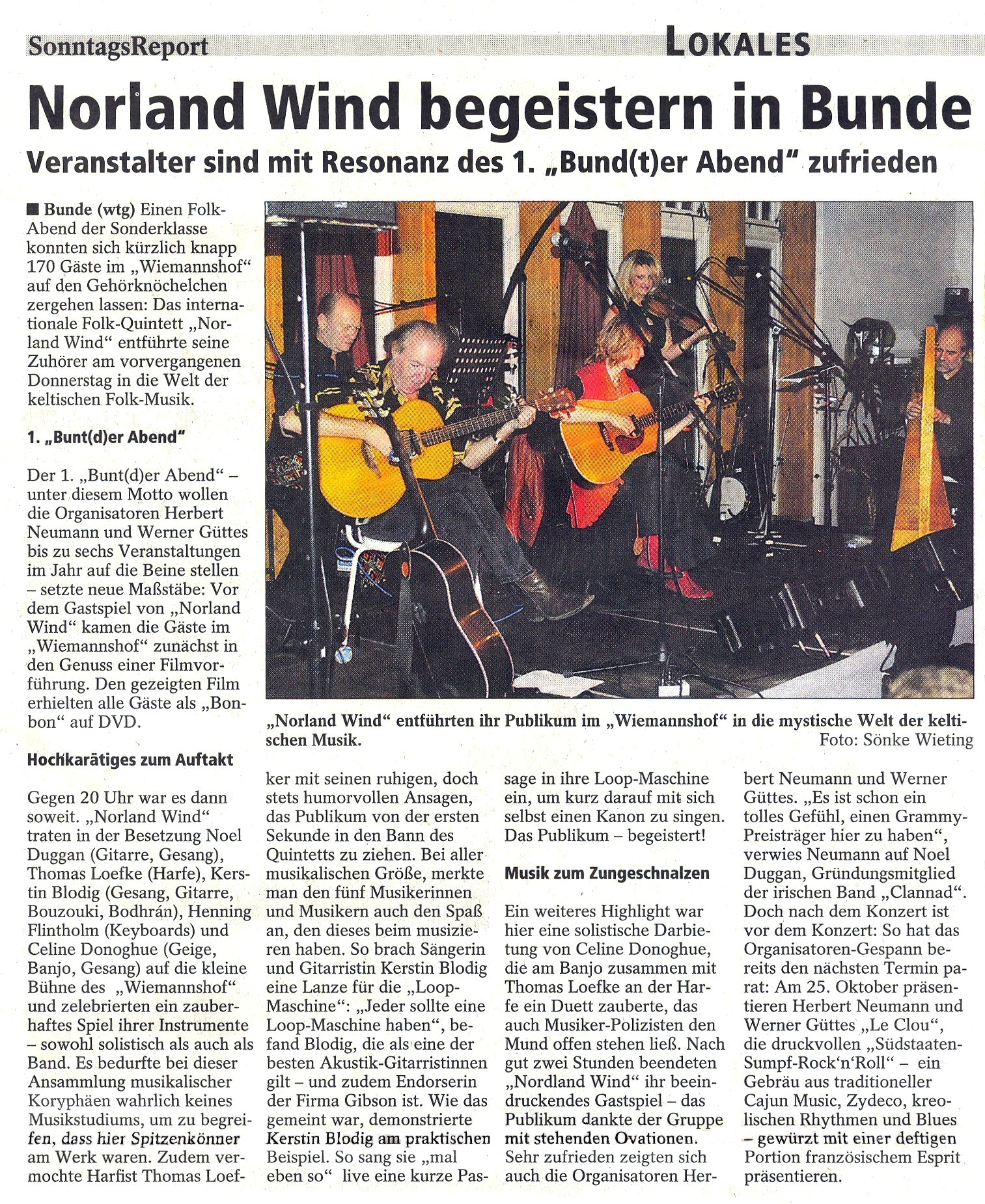 03 Sonntags-Report  Norland Wind 28.11.2010